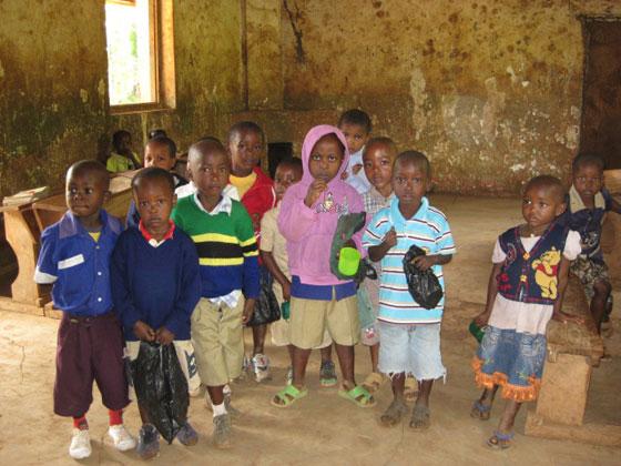 Детское Го в Африке, младшая группа, Танзания