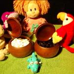 куклы и чаши Го